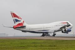 British Airways   Boeing 747-400 @ GRU