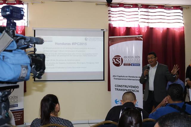 Presentación del Índice de Percepción de la Corrupción 2015