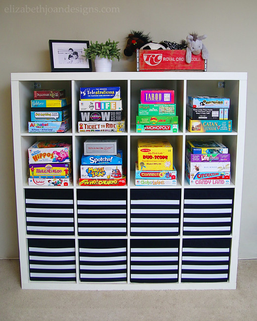 Playroom Storage Makeover