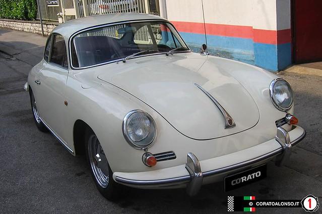 Restauro: Porsche 356 bt6 coupé elfenbein