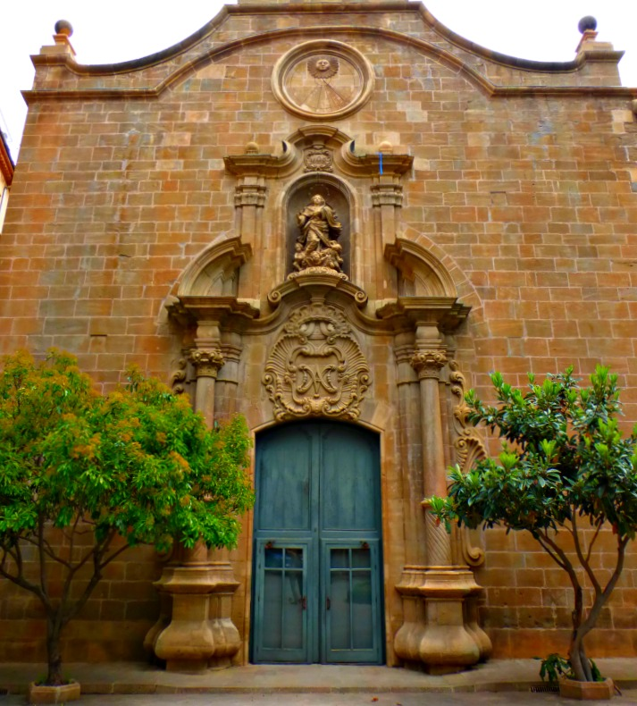Solsona Church Doors