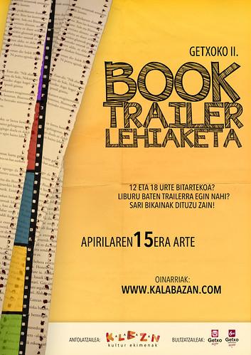 GETXOKO BOOK TRALER LEHIAKETA 2016