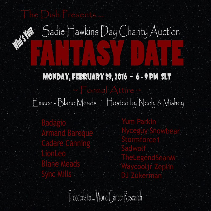 Fantasy Date Poster