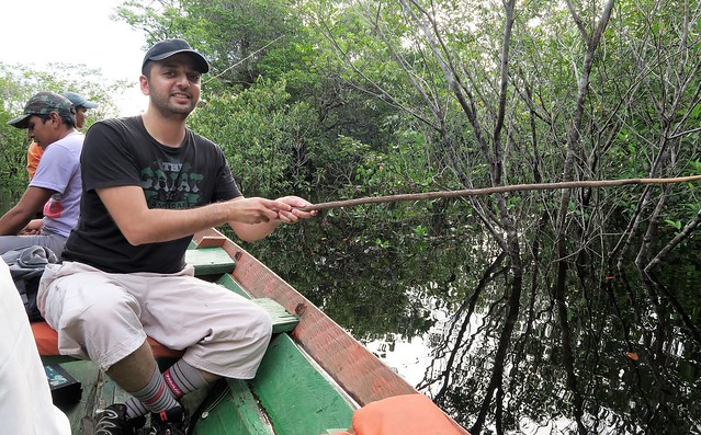 zaid piranha fishing amazon tupana river