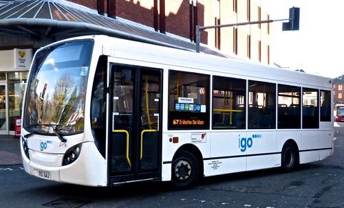WMSNT Alexander Dennis Ltd Enviro 200 T13 GAJ