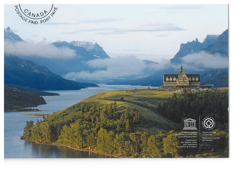 Canada - UNESCO - Waterton-Glacier International Peace Park