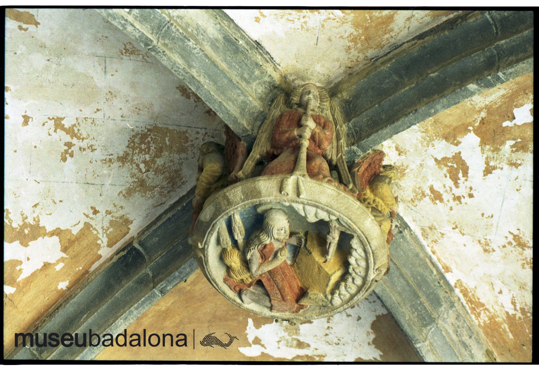Les claus de volta del monestir de Sant Jeroni de la Murtra