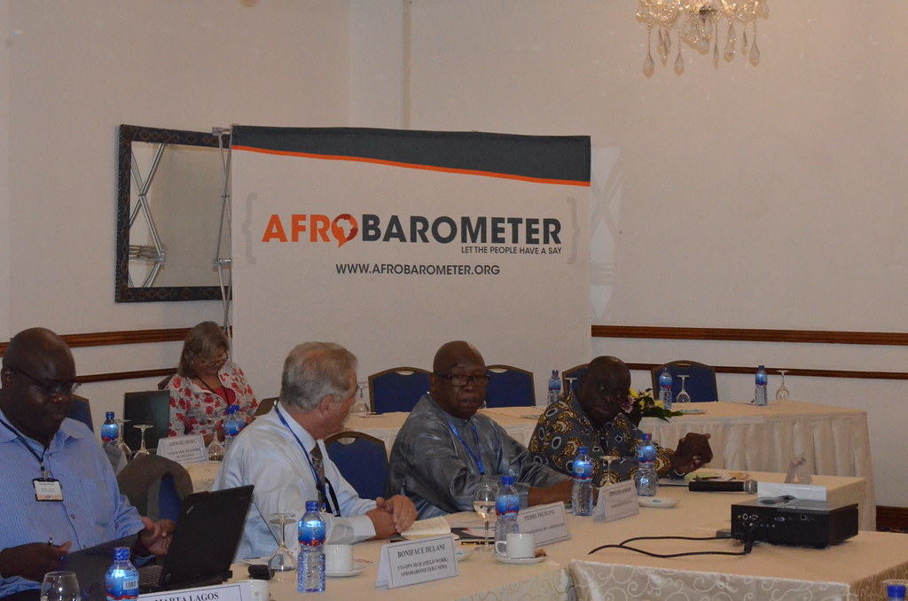 Afrobarometer User Policy Conference in Accra, Ghana; October 2015.