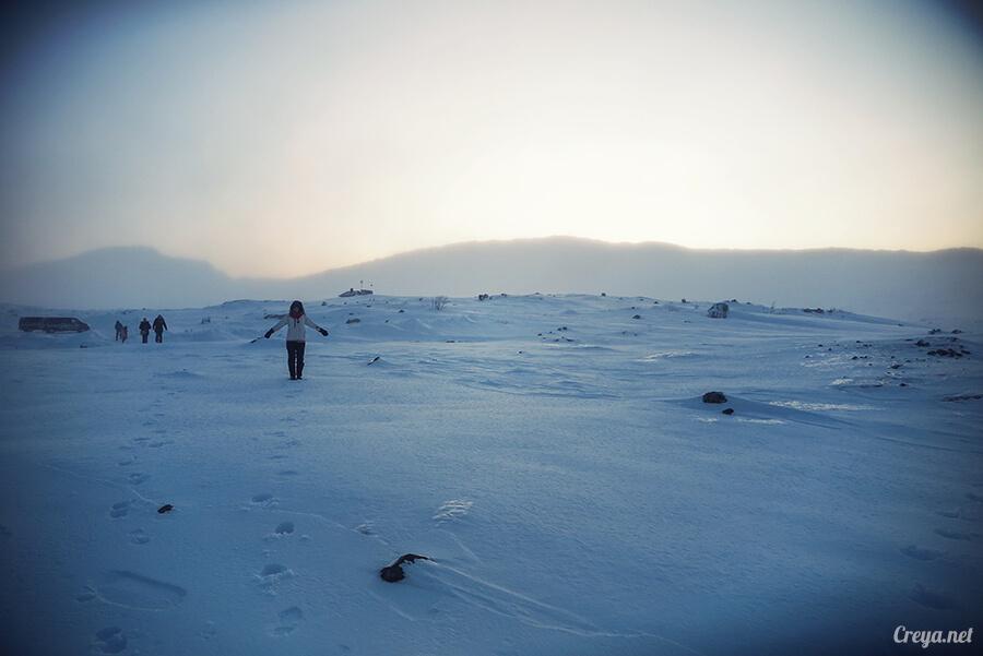 2016.02.23▐ 看我歐行腿 ▐ 阿呀~一不小心就從瑞典到了挪威, Narvik 小鎮遇見地理課本中的峽灣 10.jpg