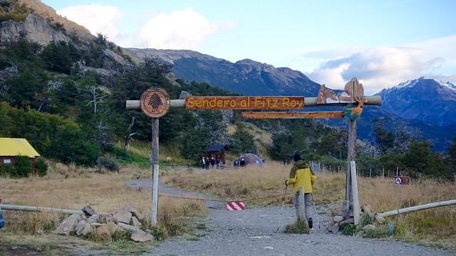 Senda Fitz Roy hike, El Chaltén