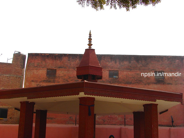 A four sided open well maintain Yagya Shala with red colored wall. All rituals related to Agni are initiated from this place.