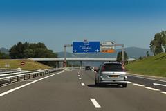 Autorout A40 - Châtillon-en-Michaille (France)