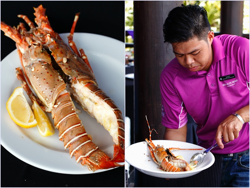 Pullman Putrajaya Epic Brunch Serving Lobsters