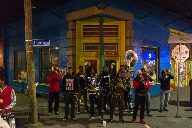Street band, French Quarter, New Orleans