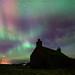 Northern lights in Orkney by Premysl Fojtu