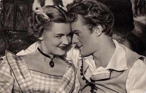 Marianne Krencsey and Iván Darvas in Liliomfi (1954)