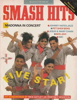 Smash Hits, August 26, 1987
