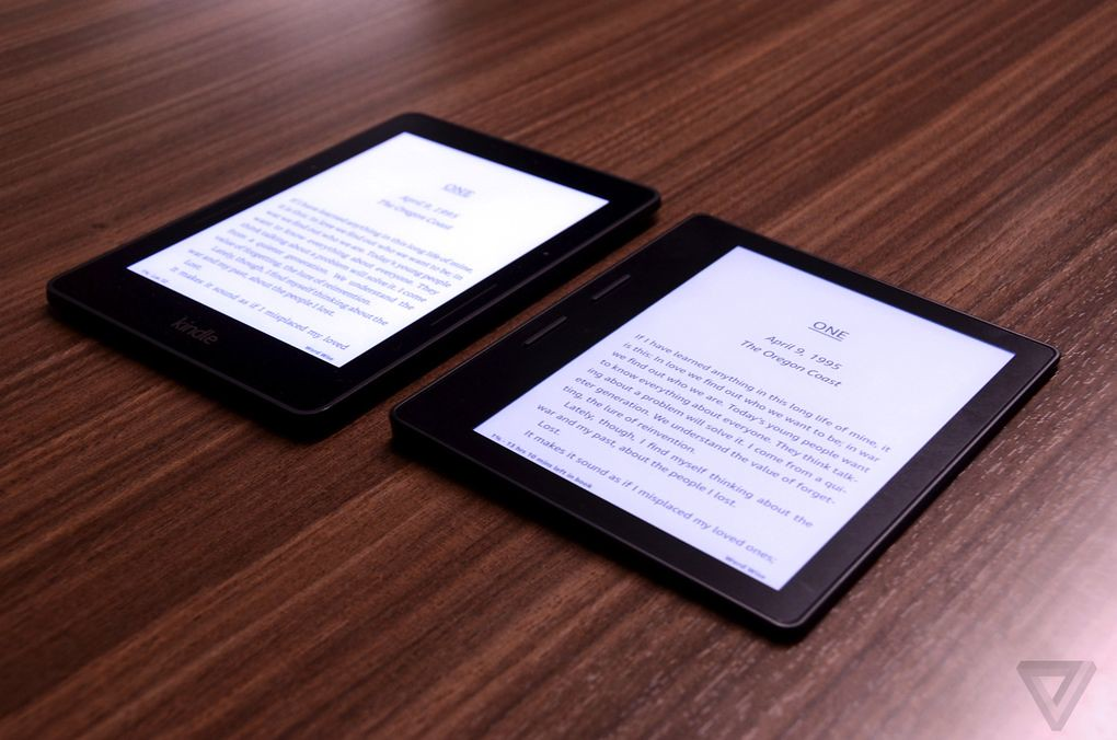 comparativa Kindle Oasis vs Voyage