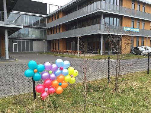 Ballonbloem Open Dag van de Zorg Marnix Revalidatiecentrum Vlaardingen