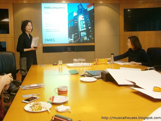 Fancl Hong Kong Presentation