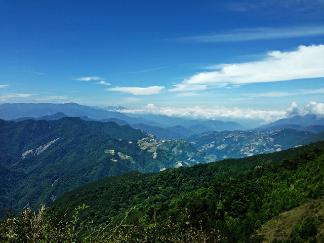 View from biking Cross Island Highway, Taiwan