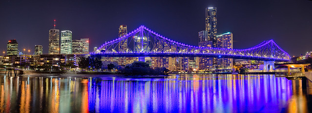 Story Bridge in Blue
