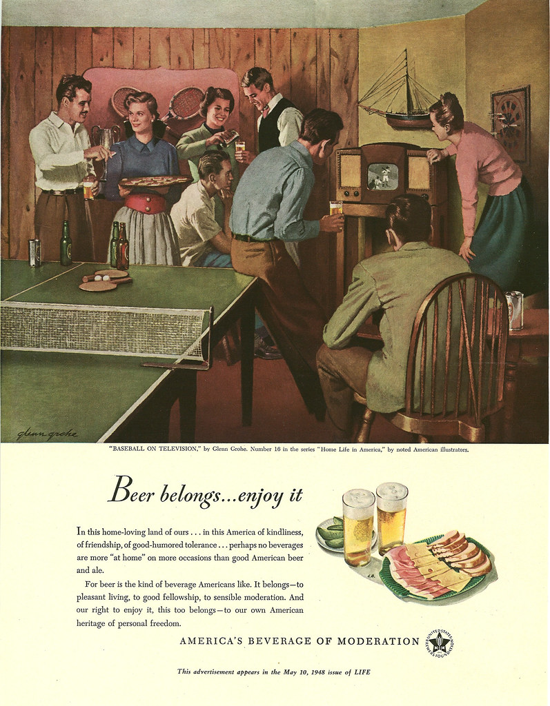 016. Baseball on Television by Glenn Grohe, 1948