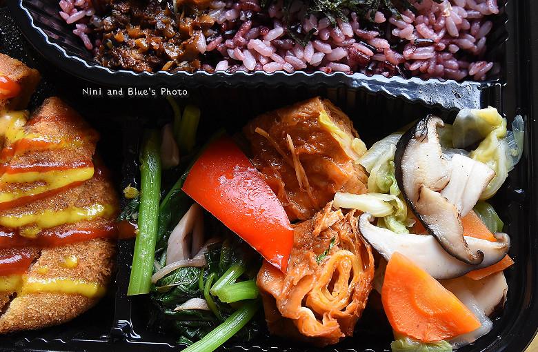 素食便當本東蔬食便當餐盒14