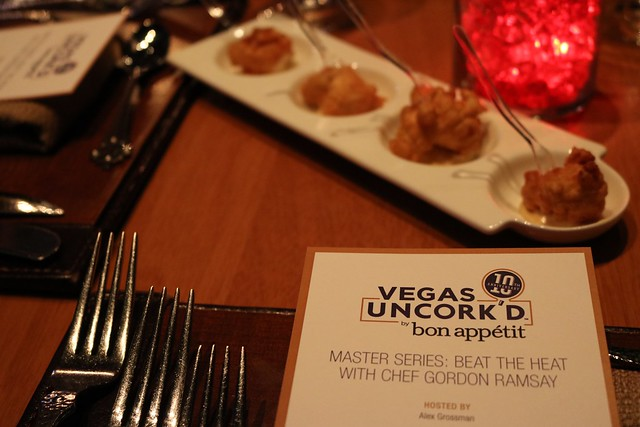 Vegas Uncork'd: Dinner with Gordon Ramsay