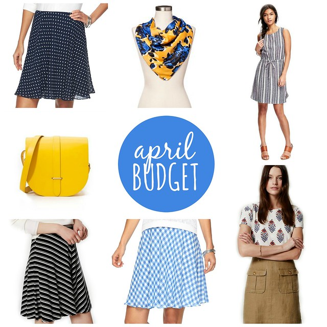 April 2016 budget | Style On Target