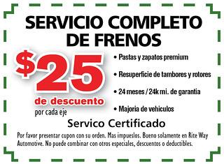 13- Span. Service Completo de Frenos - Rite Way Spring AD13