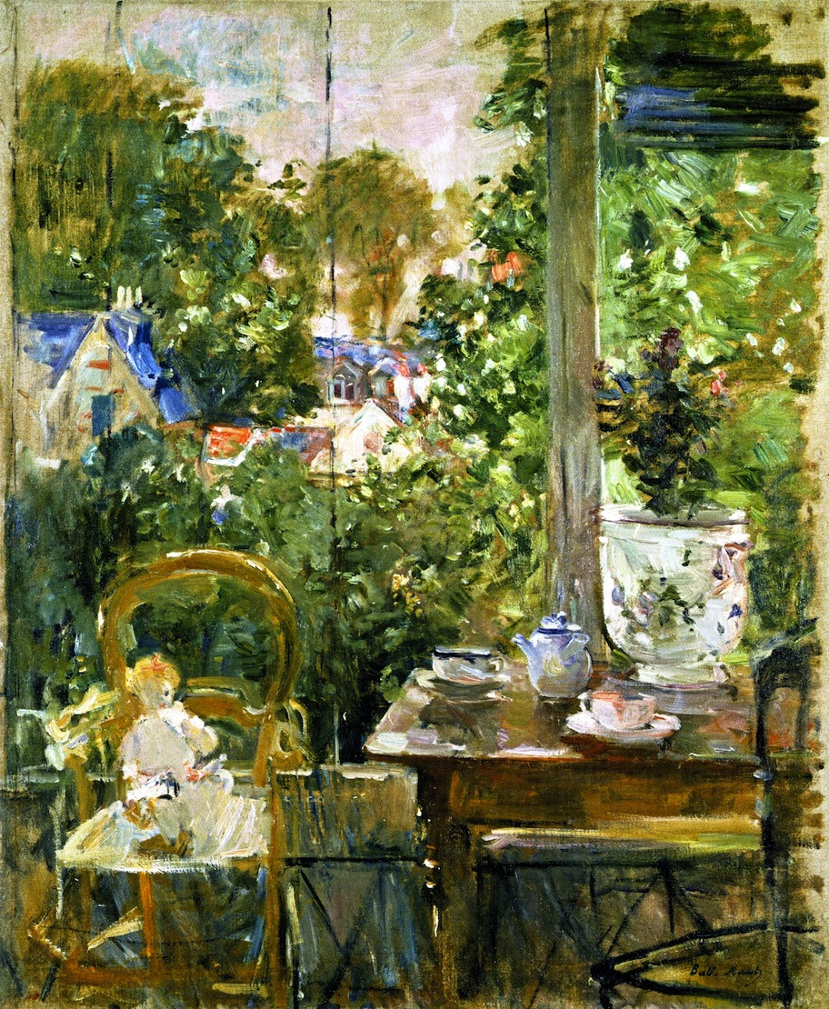 Doll on a Porch by Berthe Morisot, 1884