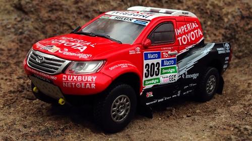 Ixo 1/43 Toyota Hilux Dakar 2015