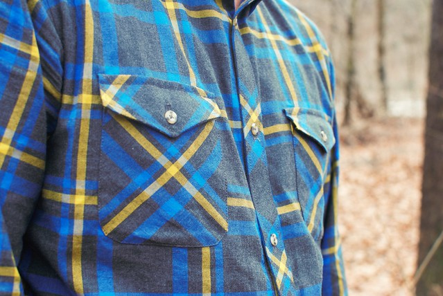 Mood Fabrics Plaid Shirt