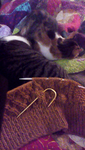 Knitting with Johnny and Grace Hopper