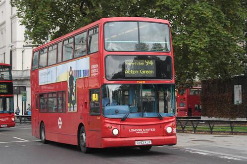 London United TLA25 SN53KJA