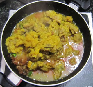 Creamy mutton curry - Steps (7)