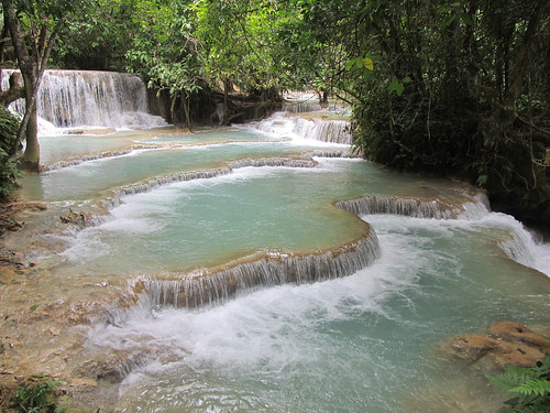 Luang Prabang: les cascades de Kouang Si