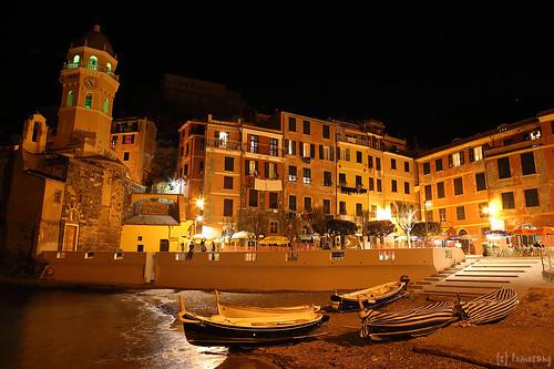 Vernazza, Cinque Terre at Night