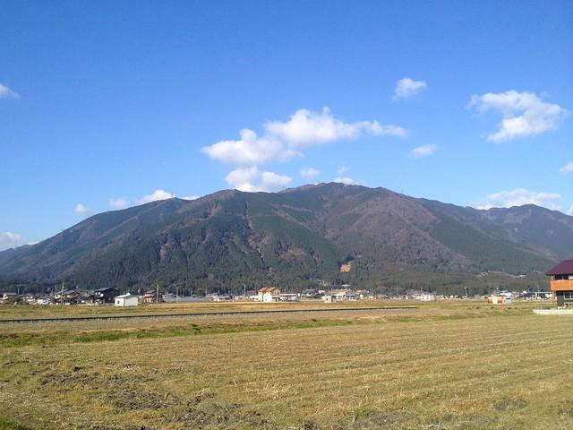 小島山 遠景