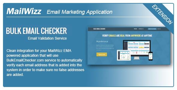 CodeCanyon MailWizz EMA integration with BulkEmailChecker.com v1.0