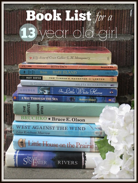 book list for girls