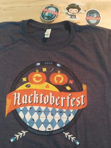Hacktoberfest T-Shirt from DigitalOcean