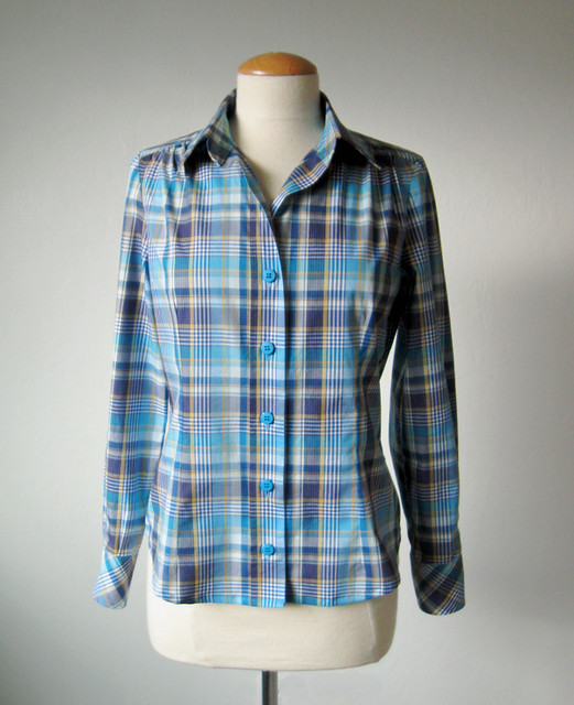 Plaid shirt front1