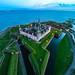 Kronborg Castle from above - Helsingør, Copenhagen - 12.12.15
