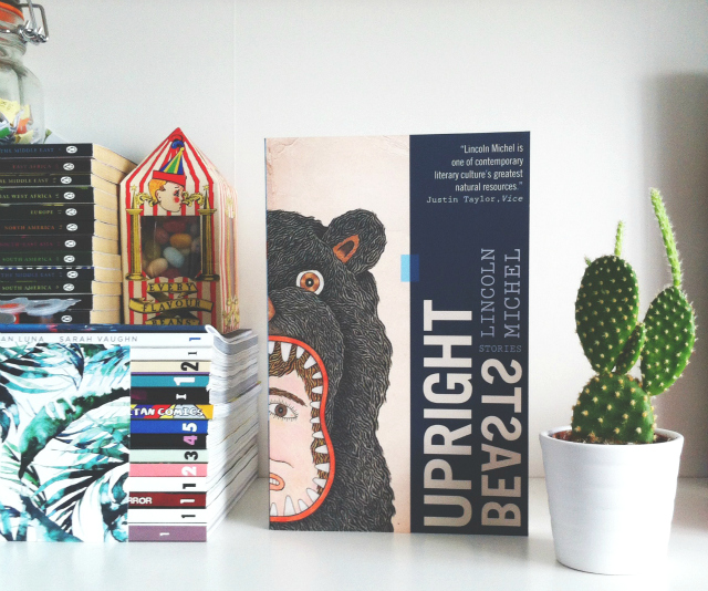 uk book blog vivatramp book haul upright beasts