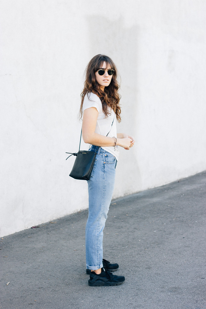 Jeans and tee style