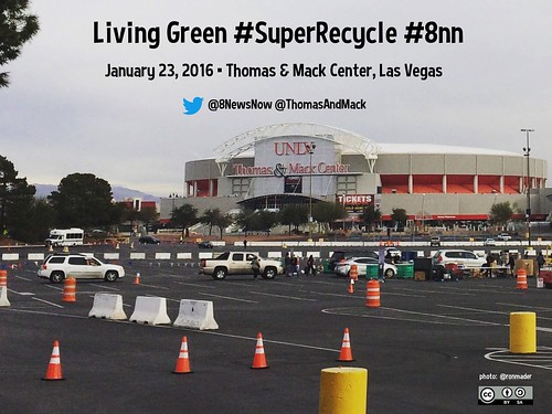 Living Green #SuperRecycle #8nn @8NewsNow @ThomasAndMack @LasVegasLocally #rtcities