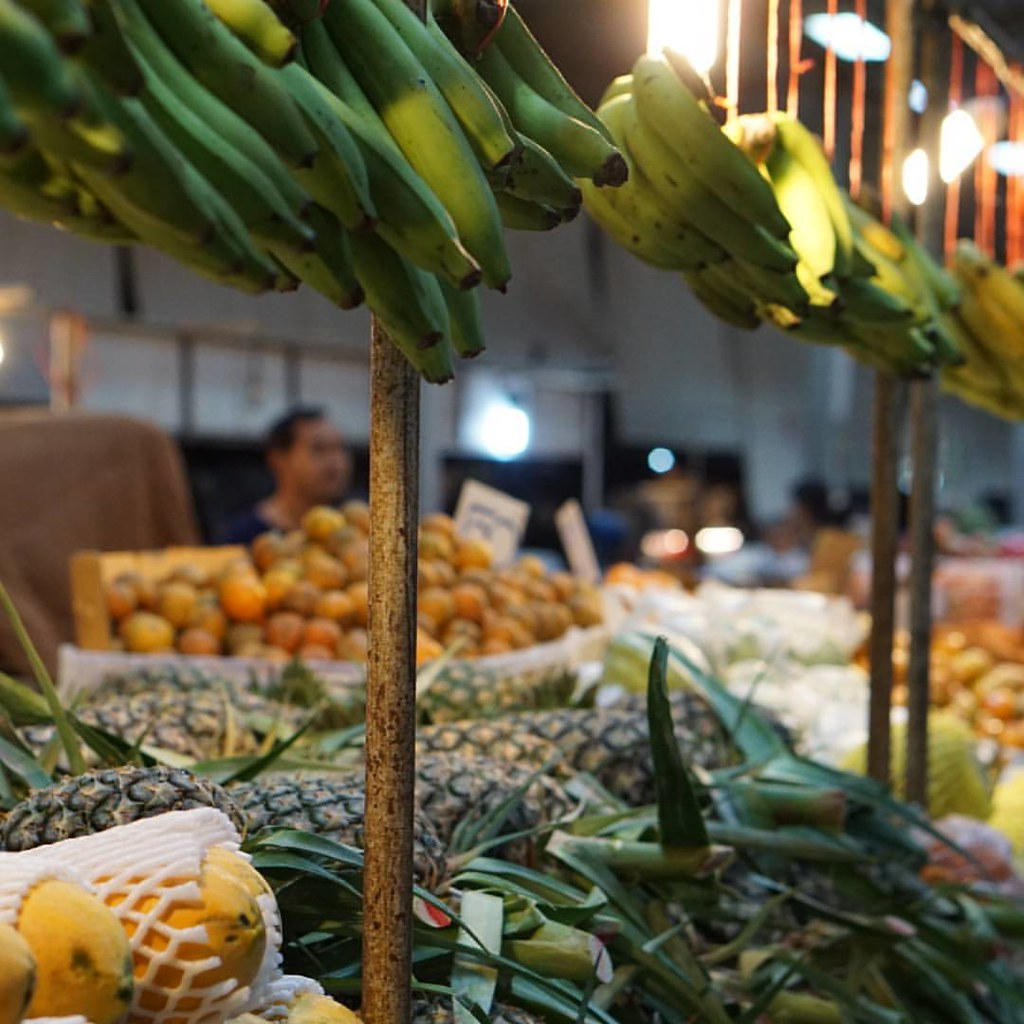 Рынок района Бо Пхут на Самуи. Самые лучшие фрукты - тут!