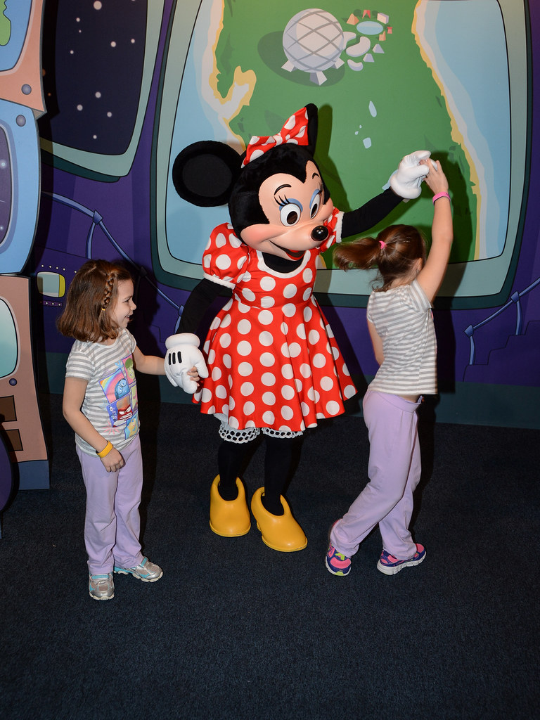 Dancing with Minnie